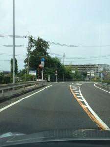 03-大津IC出口左折後直進