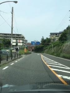 04-大津IC出口左折後直進