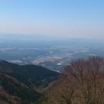 山頂から日野町方面